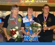 PEPITA CHAMPIONNE DE FRANCE VETERAN
